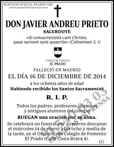 Javier Andreu Prieto
